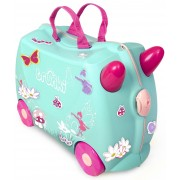 Trunki Flora The Fairy Resväska 18L, Green