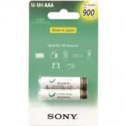 Sony NHAAAB2GN 2x AAA 900RTU wiederaufladbare Batterien 900 mAh