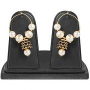 Jewels Gold Alloy Party Wear Fashion Designer Latest Fancy Jhumki Earring Set For Women Girls