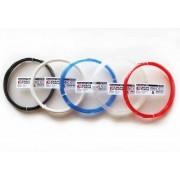 1,75 mm - ABS ClearScent™ - Červená - 90% priehľadnosť - tlačové struny FormFutura - 50g