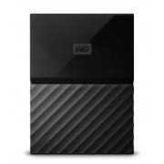 Western Digital WD My Passport WDBYNN0010BBK - Disco rígido - encriptado - 1 TB - externa (portátil) - USB 3.0 - 256-bits AES - preto