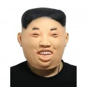 Geen Kim Jong Un fun verkleed masker voor volwassenen