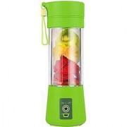 GAURAV MART Portable USB Electric Juicer Grinder Mixer Juice Blender USB Rechargeable Blender (ASSORTED COLOURS)