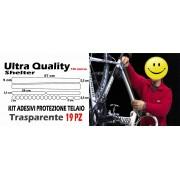 Adesivi Di protezione telaio kit 19pz universale batticatena incluso