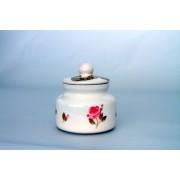 V.K.50-30-01 Violin rózsás méztartó kicsi,csurgatóval,kerámia,kézzel festett
