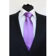 Pánská fialová klasická kravata - 8 cm