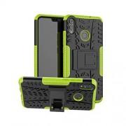 CaseExpert Honor 8X Funda, FoneExpert Heavy Duty Silicona híbrida con Soporte Cáscara de Cubierta Protectora de Doble Capa Funda Caso para Huawei Honor 8X