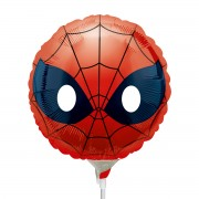 Mini balon masca Spiderman 22 cm