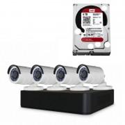 Conceptronic Kit de Vigilancia AHD 8 Canales + Grabador HD WD Purple 6TB