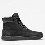 Timberland 6-inch Boot Davis Square Pour Enfant En Noir Noir, Taille 39