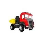Caminhao Truck Vermelho Pedal 9300 Magic Toys