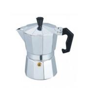 Espressor cafea manual din aluminiu Bohmann, pentru aragaz, capacitate 3 cesti