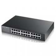 ZYXEL SWITCH MANAGED 24 PORTE GIGABIT, IPV6, VLAN, DESIGN SENZA VENTOLE, DESKTOP/RACK