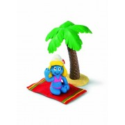 Schleich Super Smurf Figurine Smurfette On Holiday