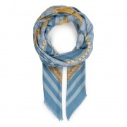 Шал GUESS - Candace Scarves AW8436 MOD03 SKY