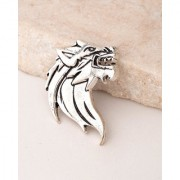 Dare by Voylla Evil Collection Jaguar Head Brooch
