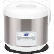 GLEN GL -3058 Electric Rice Cooker with Steaming Feature(1 L, Grey)