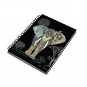 A5 Napló - Bug Art - Elefánt