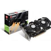 MSI Geforce GTX 1050 TI 4GT OC - Grafische kaart - GF GTX 1050 Ti - 4 GB GDDR5 - PCIe 3.0 x16 - DVI, HDMI, DisplayPort