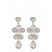 LILY AND ROSE Petite Kate Earrings - Crystal Örhänge Smycken Silver LILY AND ROSE