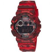 G-Shock Digital Red Dial Mens Watch - GD-120CM-4DR(G512)