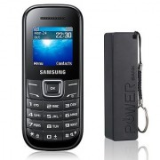 Samsung Guru 1200 / Good Condition/ Certified Pre Owned (6 months Warranty) with 2600 mAh Powerbank