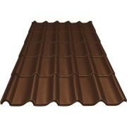 Tigla metalica Precit Roof 1790x1170x0,4 mm maro