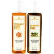 Park Daniel Premium Karanj oil and Moringa oil combo of 2 bottles of 100 ml (200ml)
