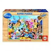 Educa Disney csodálatos világa fa puzzle, 100 darabos