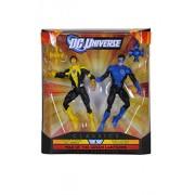 Dc Comics Collector Classics Exclusive War Of The Green Lanterns - Yellow Lantern Hal Jordan & Blue Lantern Kyle Rayner 2 Pack(Blue)