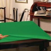 Copritavolo protettivo verde tovaglia 12 posti cm 140x220