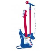 Chitara Electronica Cu Microfon Pe Stativ