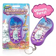 Unicorn Fartz Magical Farts Noise Maker | Hilarious Fart Machine With 6 Sounds | Funny Prank Gag Gift For Kids and Adults - Six Magic Farting Unicorn Sound Effects - With Keychain Attachment
