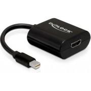Adapter DELOCK, miniDP (M) na HDMI (Z)