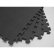 Rubber Mats Inter locking Tiles (Pack of 4 Pcs)