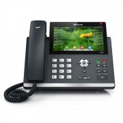 Yealink SIP-T48S, IP Phone, PoE in, tamno siva, 12mj