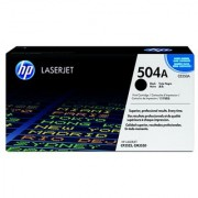 HP CE250A 504A Black Toner Cartridge hp LaserJet CP3525 CM3530