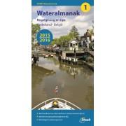 Vaargids Wateralmanak 1, 2015/2016 | ANWB Media