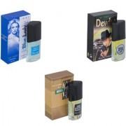 Skyedventures Set of 3 Blue Lady-Devdas-The Boss Perfume