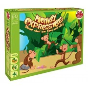 Chalk and Chuckles Monkey Expression For Children Identify & Express Emotions - 2.5 to 5 Yrs