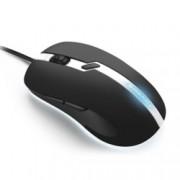 Мишка Sharkoon Shark Force PRO Gaming, оптична 3200 DPI, USB, черно/бяла, LED подсветка