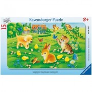 Puzzle Animale Dragalase, 15 Piese Ravensburger