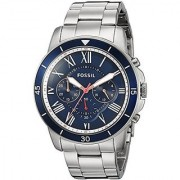 Fossil Chronograph Blue Dial Mens Watch-FS5238