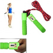 6thdimensions Skipping Rope with Jump Counter (Colors May Vary)