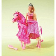 STEFFI LOVE Simba Ankleidepuppe »Steffi Love Märchenprinzessin mit Pferd«