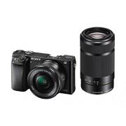 Sony Alpha 6000 Systeemcamera (24 megapixels, 7,6 cm (3 inch) LCD-display, Exmor APS-C sensor, Full-HD, High Speed Hybrid AF)