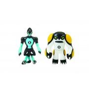 BEN 10 - Set 2 mini figurine XLR8 si Ghiulea - 5 cm