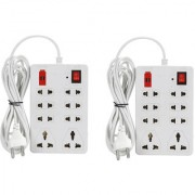Combo Mini Extension Cords Boards 6AMP Electric Boards Power Strip Surge Protector Multi Plug Computer Board