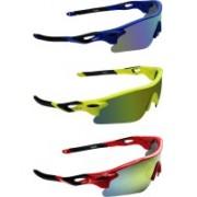 Zyaden Sports Sunglasses(Multicolor)