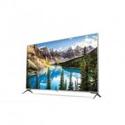 "LG 55UJ6517 LED TV 55"" Ultra HD, WebOS 3.5 SMART, T2, Silver, Two pole stand"